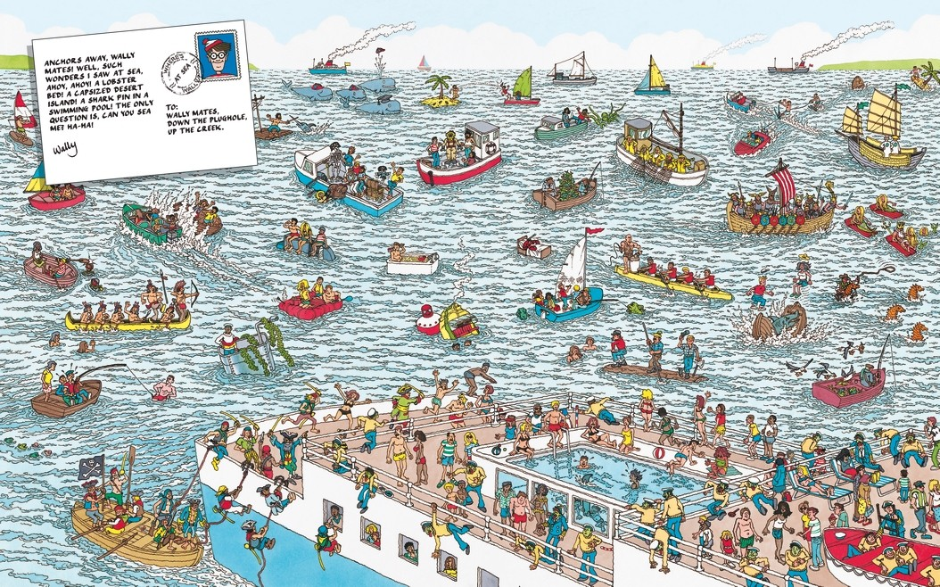 Where's Wally? - Where's Wally? (Paperback)
