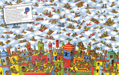 Where's Wally? The Fantastic Journey - Where's Wally? (Paperback)
