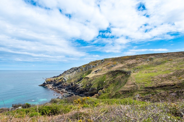 The coast road to Zennor