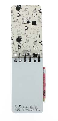 Moomins Top Bound Notebook & Pencil