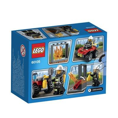 LEGO (R) City Fire ATV: 60105