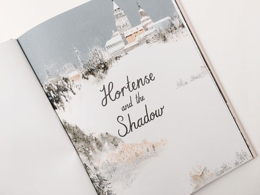 Hortense and the Shadow (Hardback)