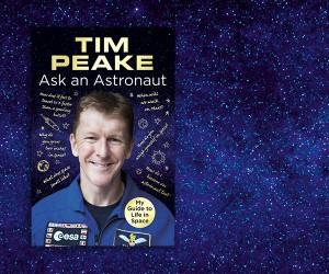 Tim Peake Picks 5 Books to Take to Space