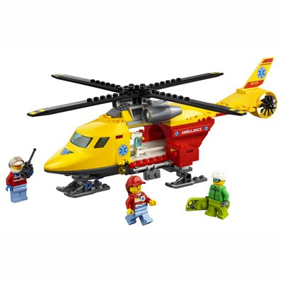 LEGO (R) Ambulance Helicopter: 60179