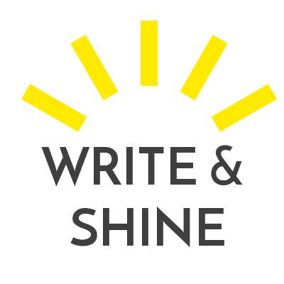Write and Shine writing workshop