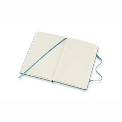 Reef Blue Ruled Hard Notebook Pocket