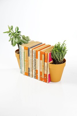 Plant Book Ends