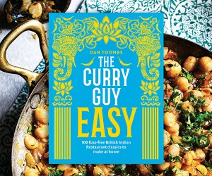 A Book & a Bite: Exclusive Recipes from The Curry Guy