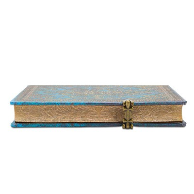 Azure Midi Lined Notebook (Hardback)