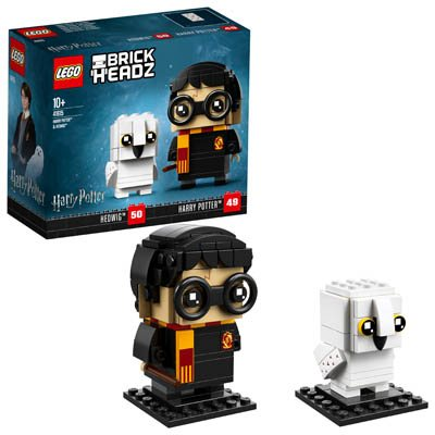 LEGO (R) Harry Potter & Hedwig: Brickheadz - 41615