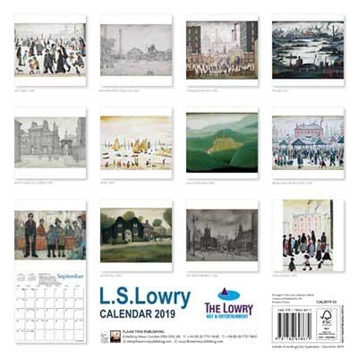 2019 L.s Lowry Wall Calendar (Calendar)