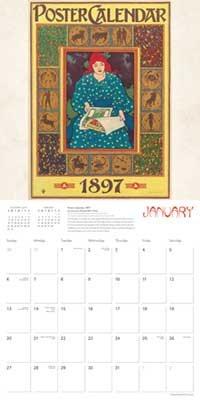 Art Nouveau Posters Wall Calendar 2019 (Art Calendar) (Calendar)
