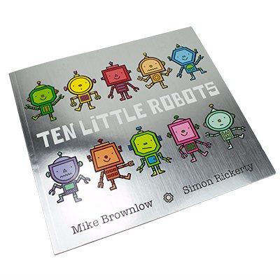 Ten Little Robots - Ten Little (Paperback)