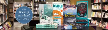 Waterstones Book of the Month - September