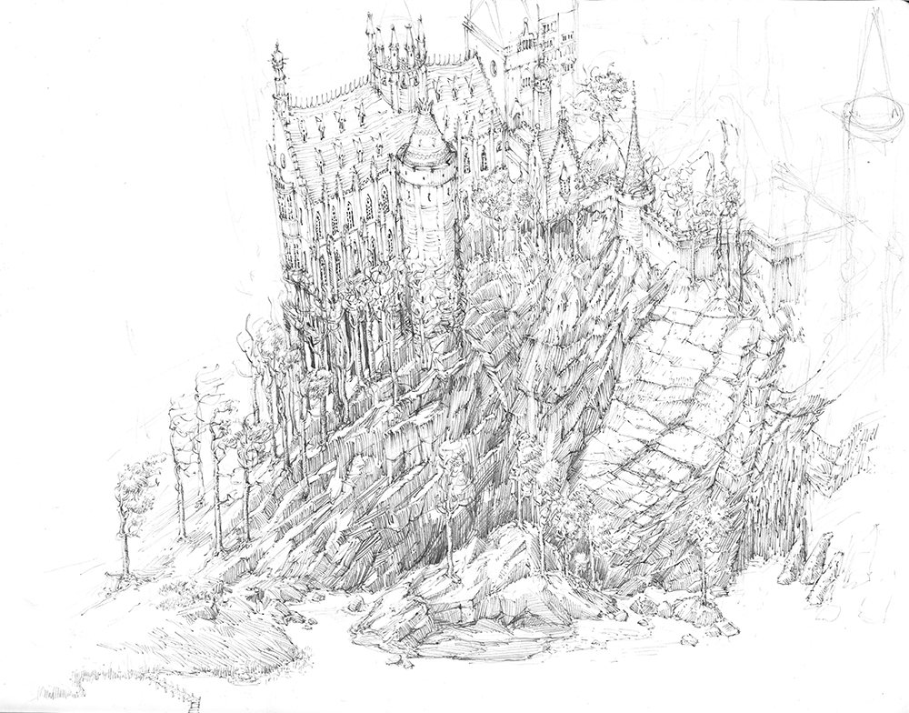 exclusive behind the scenes sketches from jim kay u0026 39 s