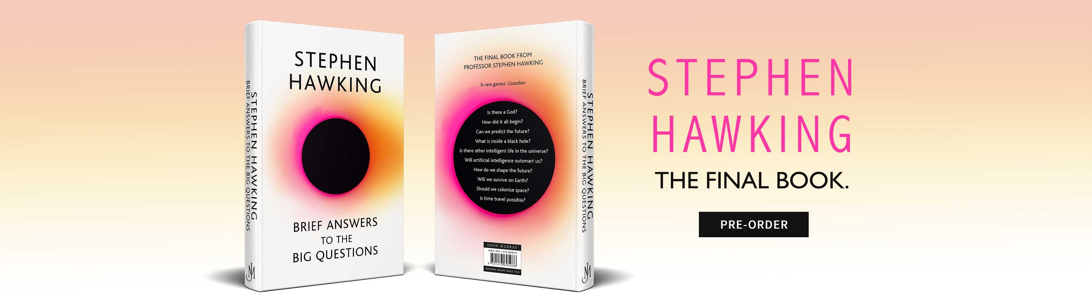 Buy books stationery and gifts online and in store waterstones brief answers to the big questions by stephen hawking fandeluxe Gallery