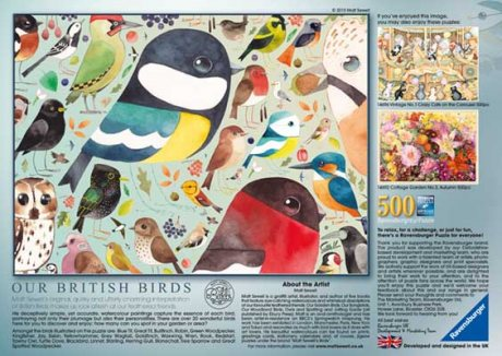 Matt Sewell's Our British Birds 500pc Puzzle