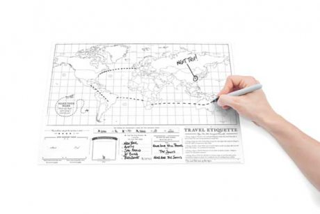 Scratch Map Travel Edition (Poster)