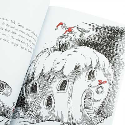 Dr Seuss The Grinch Who Stole Christmas Poem.How The Grinch Stole Christmas Dr Seuss Paperback