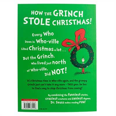 Dr Seuss Christmas.How The Grinch Stole Christmas Dr Seuss Paperback