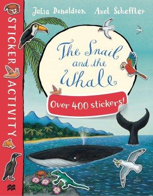 The Snail and the Whale Sticker Book (Paperback)