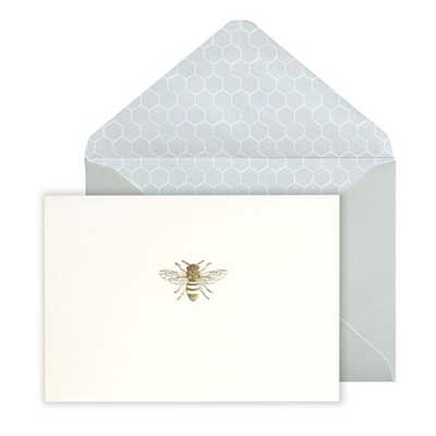 Bee Boxed Notecards