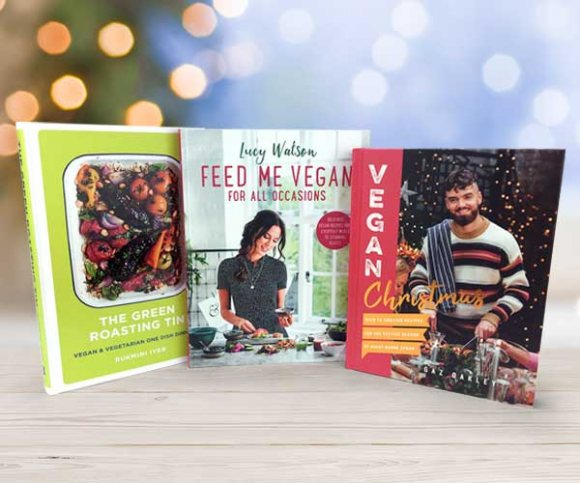 Our Top 10 Vegetarian and Vegan Books for Christmas