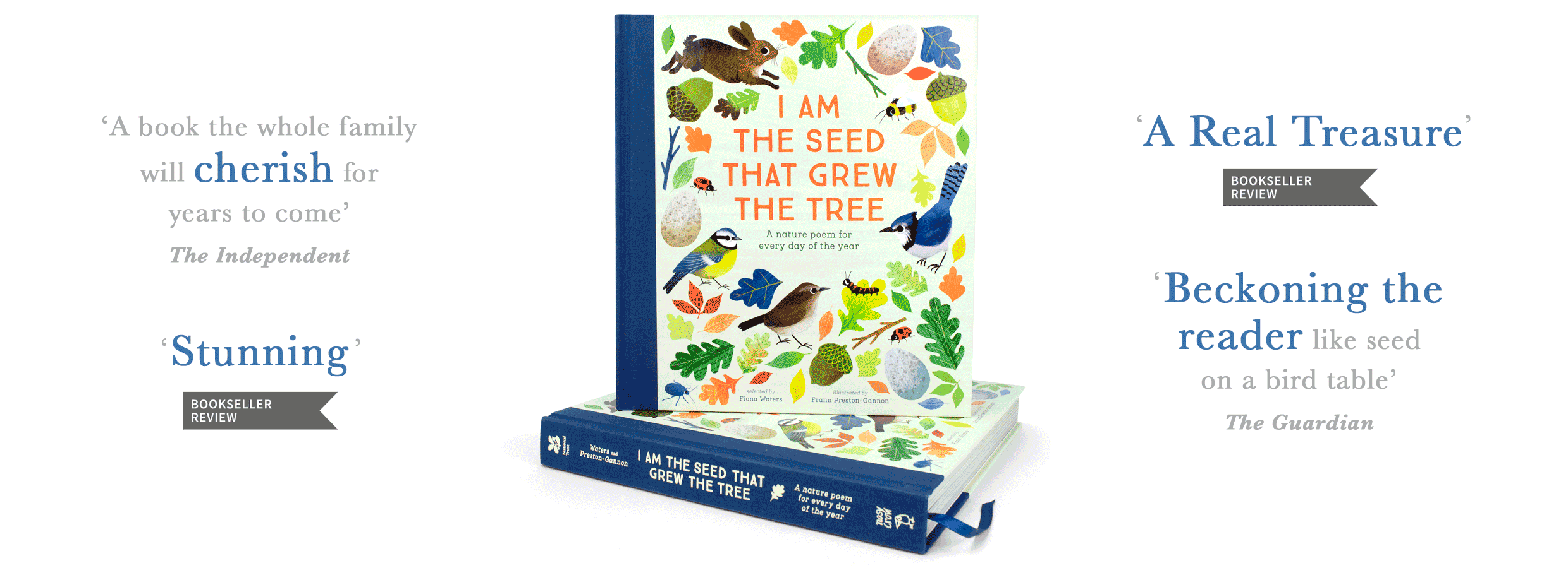 Children's Gift of the Year 2018 I am the Seed that grew the tree