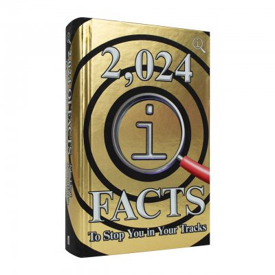 2,024 QI Facts To Stop You In Your Tracks (Hardback)