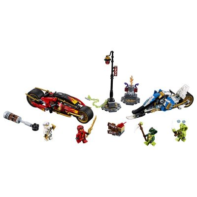 LEGO (R) Kai's Blade Cycle & Zane's Snowmobile: 70667