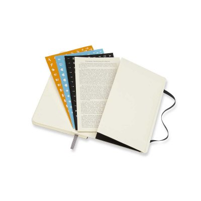 Black Weekly Soft Pocket Diary 2019-2020 (Diary)