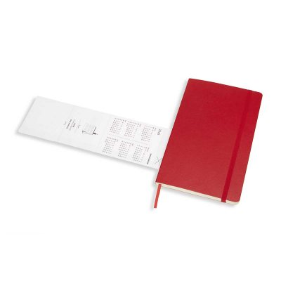 Scarlet Red Weekly Soft Large Diary 2019-2020 (Diary)