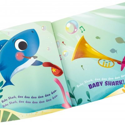 Baby Shark (UK PB) (Paperback)