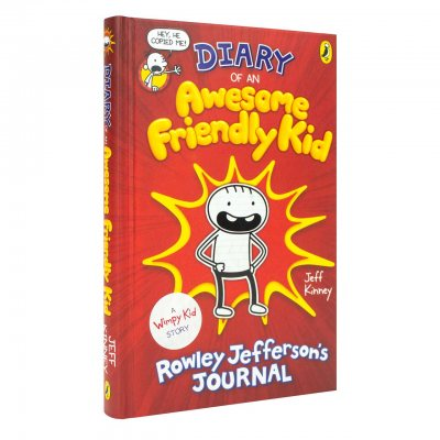 Diary of an Awesome Friendly Kid: Rowley Jefferson's Journal - Diary of a Wimpy Kid (Hardback)