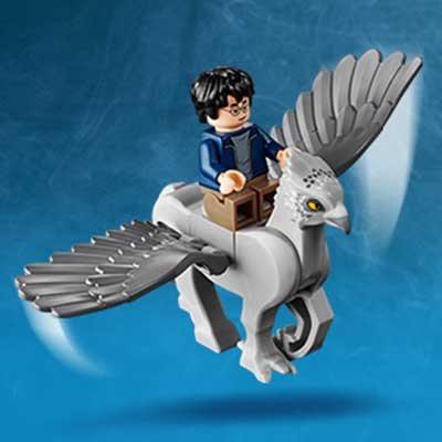 Lego Buckbeak the Hippogriff from set 75947 Hagrid/'s Hut:Buckbeaks Rescue New
