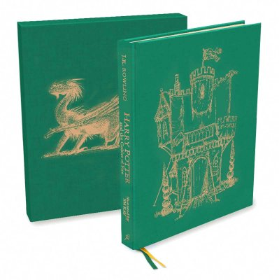 Harry Potter and the Goblet of Fire: Deluxe Illustrated Slipcase Edition (Book)