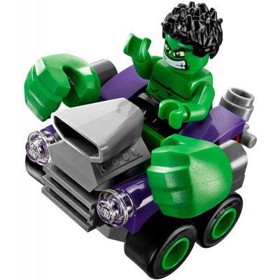 LEGO (R) Superheroes Mighty Micros: Hulk Vs. Ultron: 76066