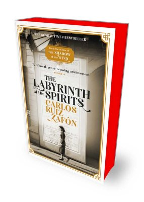 The Labyrinth of the Spirits: Exclusive Edition with Sprayed Edges (Paperback)
