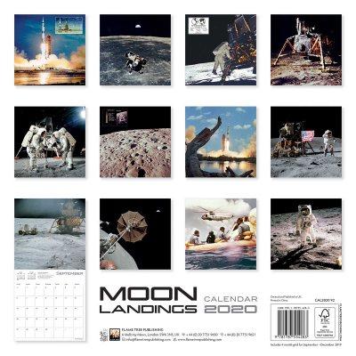 The Moon Landings Wall Calendar 2020 (Art Calendar) (Calendar)