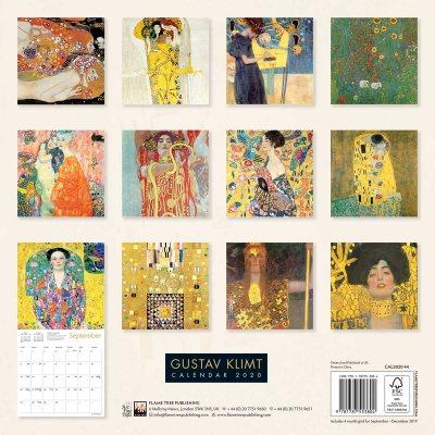 Gustav Klimt Wall Calendar 2020 (Art Calendar) (Calendar)