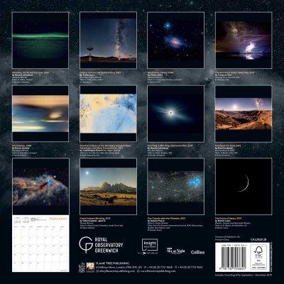 Greenwich Royal Observatory - Astronomy Photographer of the Year Wall Calendar 2020 (Art Calendar) (Calendar)