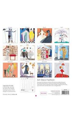 2020 Art Deco Prints Wall Calendar (Calendar)