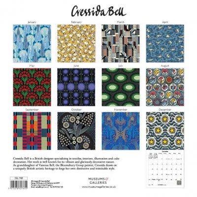 2020 Cressida Bell Textile Designs Wall Calendar (Calendar)