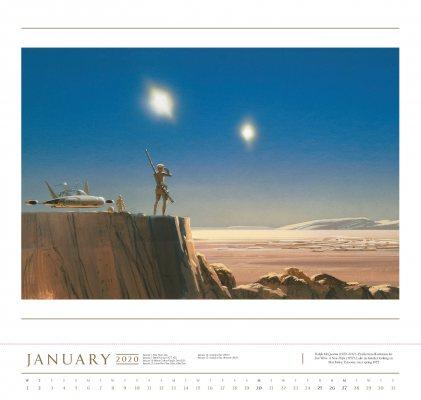 2020 Star Wars Art: Ralph Mcquarrie Poster Calendar (Calendar)