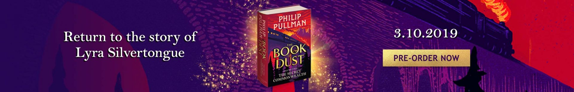 The Secret Commonwealth Philip Pullman Pre-Order