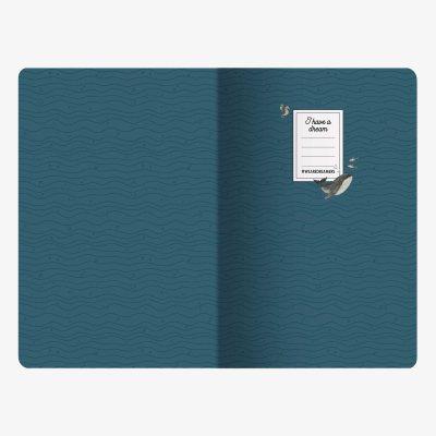 Whales Medium Desk Diary 2019-2020 (Diary)