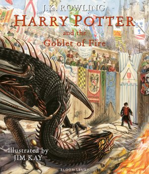 Harry Potter and the Goblet of Fire Illustrated Edition Prize Draw