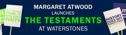 Margaret Atwood launches The Testaments at Waterstones Piccadilly