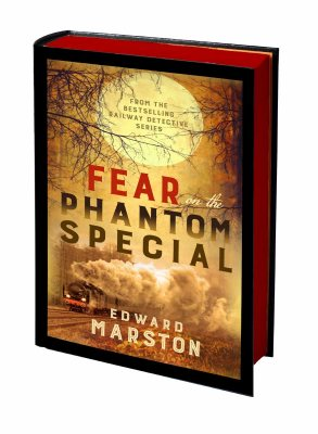 Fear on the Phantom Special: Dark deeds for the Railway Detective to investigate - Railway Detective (Hardback)