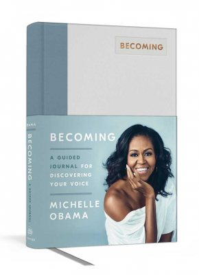Becoming: A Guided Journal for Discovering Your Voice (Hardback)